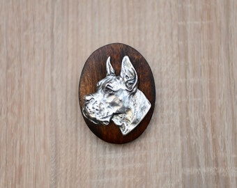Great Dane, Deutsche Dogge, dog clipring, dog show ring clip/number holder, limited edition, ArtDog