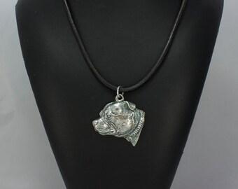 Staffordshire Bull Terrier, dog necklace, limited edition, ArtDog