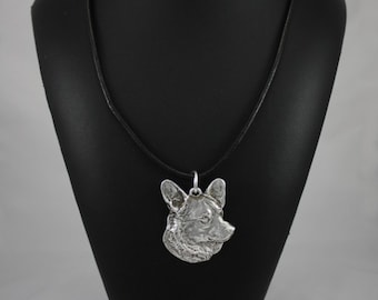 Welsh Corgi, dog necklace, limited edition, ArtDog