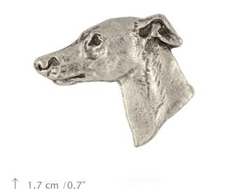 Whippet, dog pin, limited edition, ArtDog