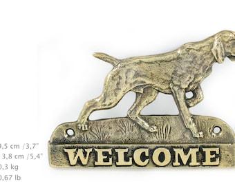 Weimaraner, dog welcome, hanging decoration, limited edition, ArtDog