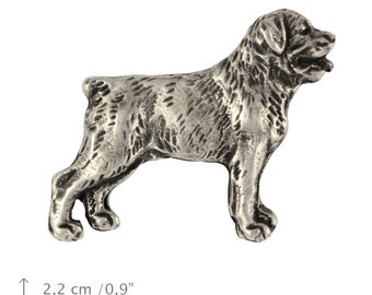 Rottweiler, dog pin, limited edition, ArtDog