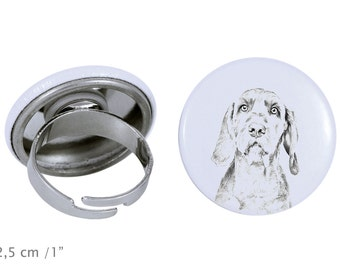 Ring with a dog- Wirehaired Vizsla
