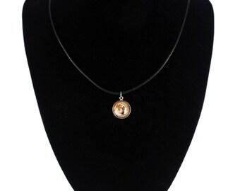 American Bulldog, pendant for people who love dogs. Photojewelry. Handmade.