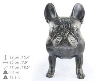 French Bulldog, dog natural size statue, limited edition, ArtDog