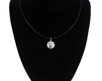 Weimaraner, pendant for people who love dogs. Photojewelry. Handmade.