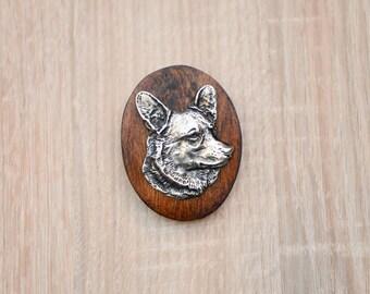 Pembroke Welsh Corgi, dog show ring clip/number holder, limited edition, ArtDog