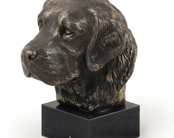 Golden Retriever, dog marble statue, limited edition, ArtDog. Made of cold cast bronze. Perfect gift. Limited edition