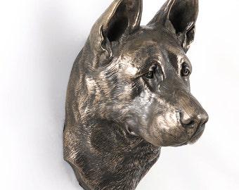 German Shepherd, dog hanging statue, limited edition, ArtDog