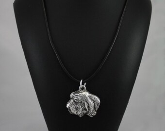 Basset Vendeen (Petit Basset Griffon Vendéen), dog necklace, limited edition, ArtDog