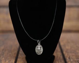 French Bulldog, dog necklace, medallion, limited edition, extraordinary gift, ArtDog