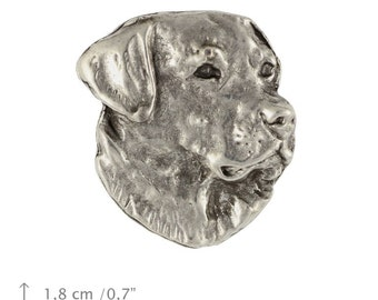 Labrador Retriever, dog pin, limited edition, ArtDog