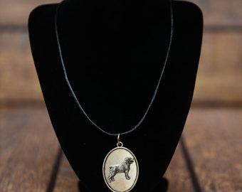 Rottweiler, dog necklace, medallion, limited edition, extraordinary gift, ArtDog