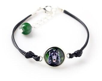 Belgian Shepherd, Malinois. Bracelet for people who love dogs. Photojewelry. Handmade.