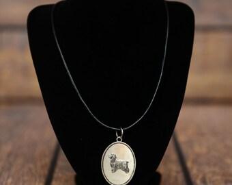 English Cocker Spaniel, dog necklace, medallion, limited edition, extraordinary gift, ArtDog