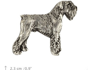 Schnauzer (body), dog pin, limited edition, ArtDog