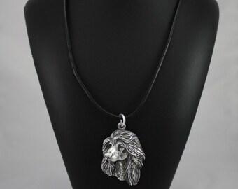 Afghan Hound, Ogar Afgan, Tazhi Spay, dog necklace, limited edition, ArtDog