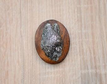 Briard, dog clipring, dog show ring clip/number holder, limited edition, ArtDog