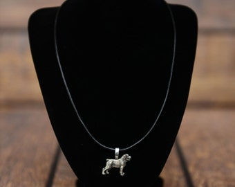 Rottweiler , dog necklace, limited edition, extraordinary gift, ArtDog