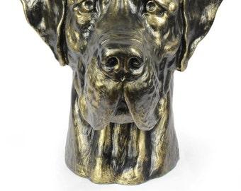 Great Dane, Deutsche Dogge (uncropped), dog big head statue, limited edition, ArtDog