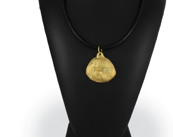 Bichon, millesimal fineness 999, dog necklace, limited edition, ArtDog