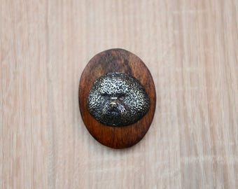 Bichon Frise, dog clipring, dog show ring clip/number holder, limited edition, ArtDog