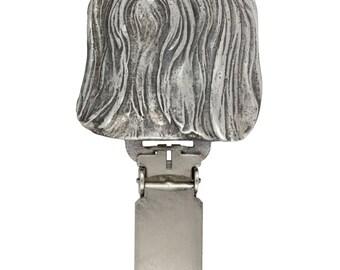 Shih-Tzu, dog clipring, dog show ring clip/number holder, limited edition, ArtDog