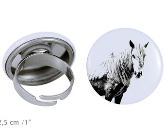 Ring with a horse - Giara horse