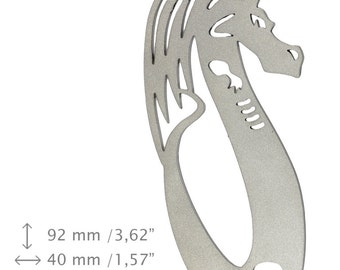 NEW, Dragon 7, bottle opener, stainless steel, different shapes, limited edition