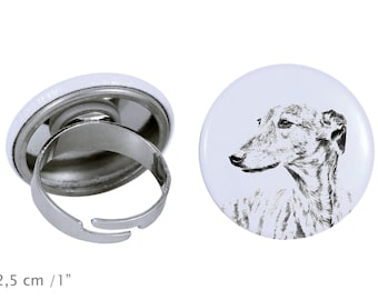 Ring with a dog - Grey Hound