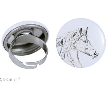 Ring with a horse - Freiberger