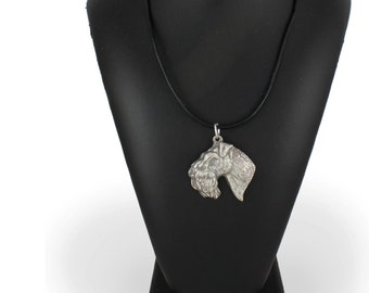 Kerry Blue Terrier, dog necklace, limited edition, ArtDog