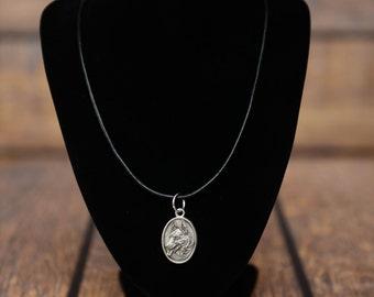 German Shepherd, dog necklace, medallion, limited edition, extraordinary gift, ArtDog