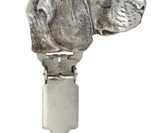 Beagle, dog clipring, dog show ring clip/number holder, limited edition, ArtDog