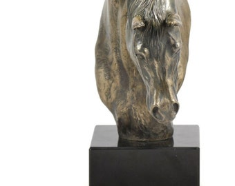 Arabian Horse (second kind), horse marble statue, limited edition, ArtDog