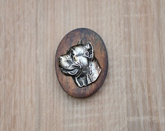Cane Corso, Italian mastiff, dog clipring, dog show ring clip/number holder, limited edition, ArtDog