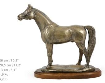 Arabian Horse, horse wooden base statue, limited edition, ArtDog