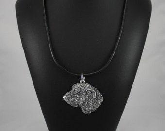 Irish Wolfhound, dog necklace, limited edition, ArtDog