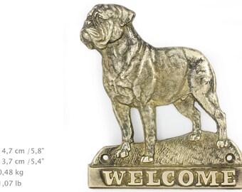 Dog De Bordeaux, dog welcome, hanging decoration, limited edition, ArtDog