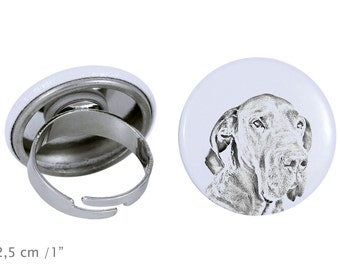 Ring with a dog - Great Dane