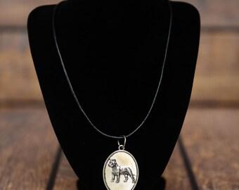 Cane Corso, Italian mastiff, dog necklace, medallion, limited edition, extraordinary gift, ArtDog