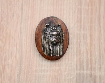Yorkshire Terrier, dog clipring, dog show ring clip/number holder, limited edition, ArtDog