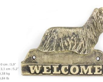 Skye Terrier, dog welcome, hanging decoration, limited edition, ArtDog