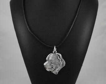 Central Asian Shepherd Dog, dog necklace, limited edition, ArtDog