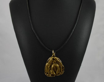 Shih Tzu, millesimal fineness 999, dog necklace, limited edition, ArtDog