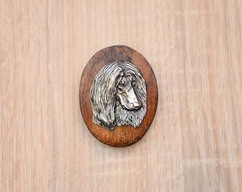 Afghan Hound, dog show ring clip/number holder, limited edition, ArtDog