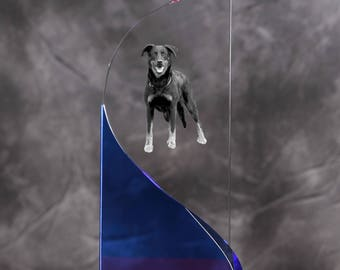 Beauceron- crystal statue in the likeness of the dog