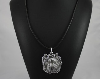 Yorkshire Terrier, Yorkie, dog necklace, limited edition, ArtDog