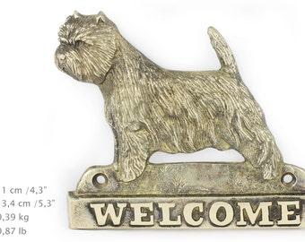 West Highland White Terrier, dog welcome, hanging decoration, limited edition, ArtDog