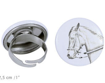 Ring with a horse - Paso Fino